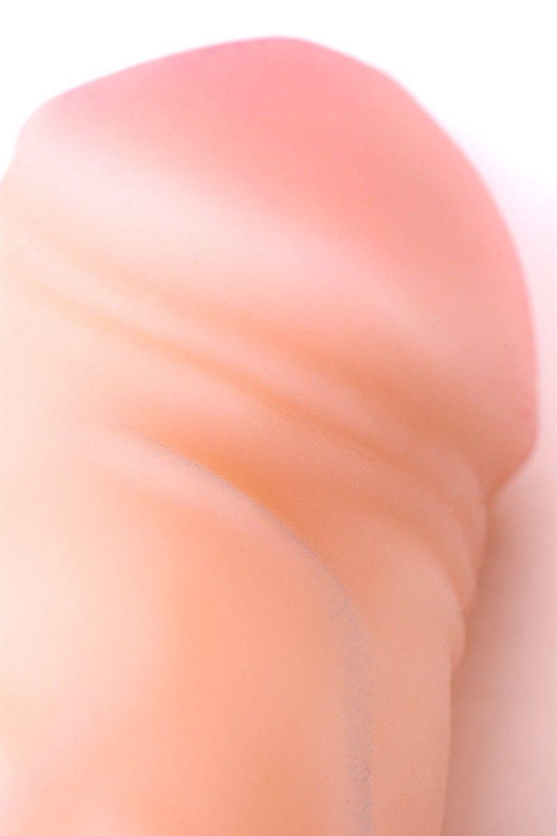 Насадка ToyFa XLover Increase+ для увеличения размера, реалистичная, с кольцом, TPR, телесный, 15 см