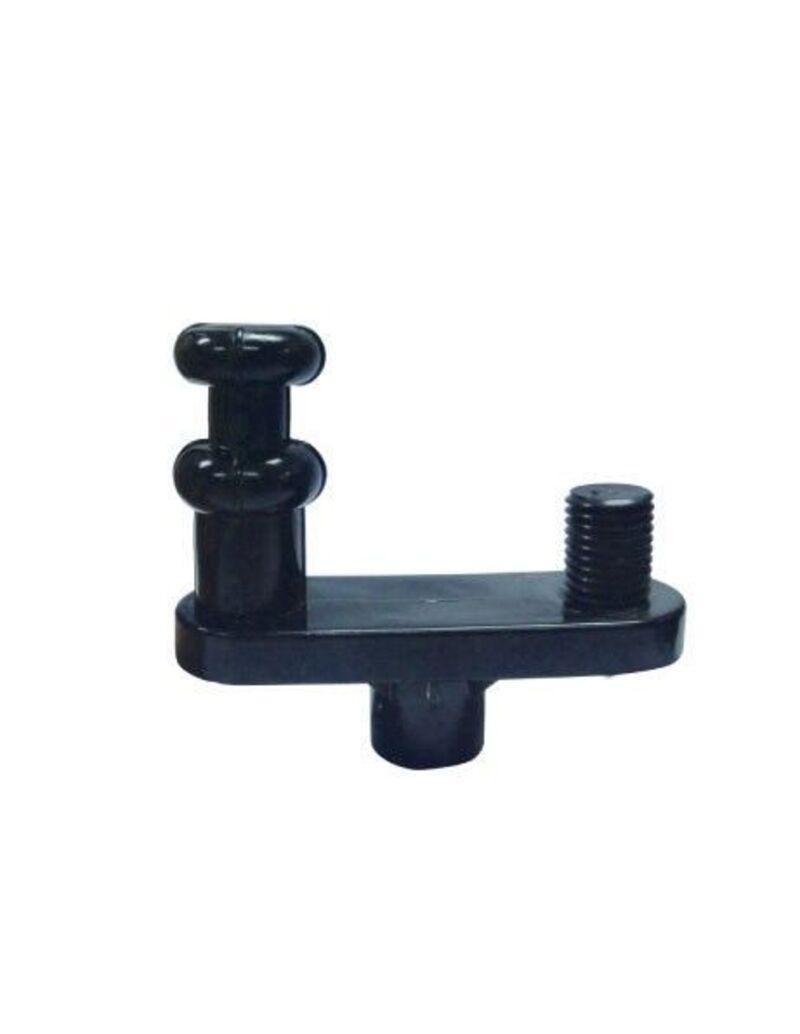 Переходник для сменных насадок, Diva, ABS пластик, черный,10 см
