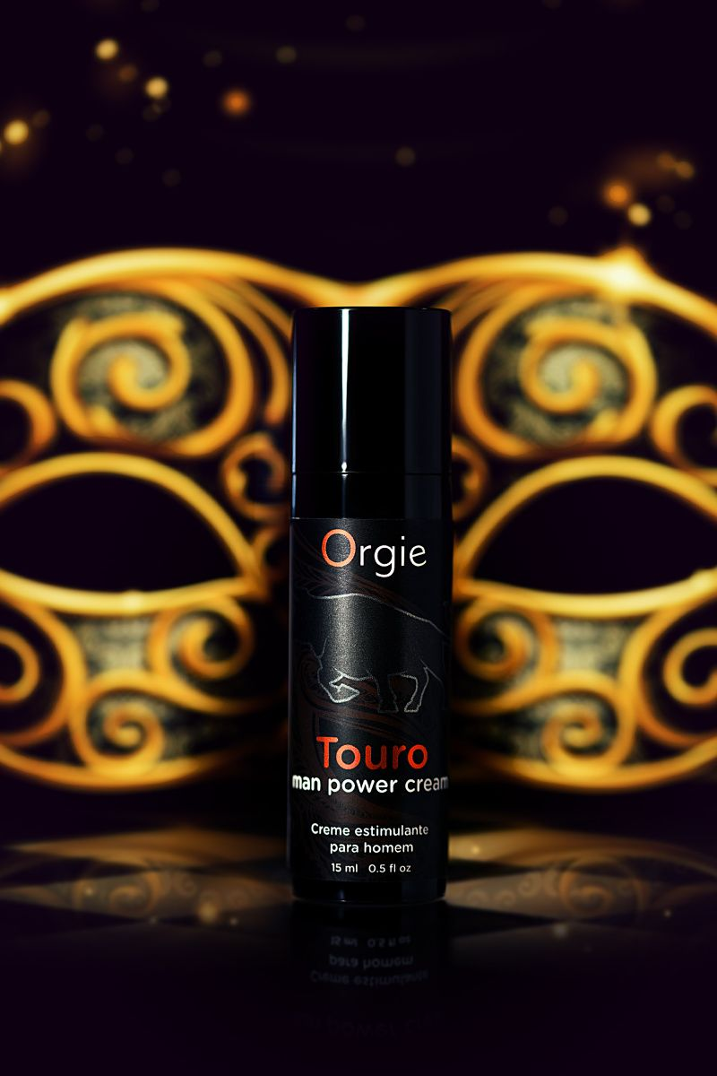 Возбуждающий крем для мужчин ORGIE Touro, 15 мл