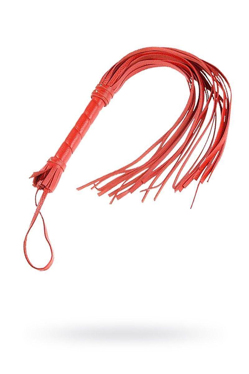 Плеть Sitabella красная 65 см,кожа