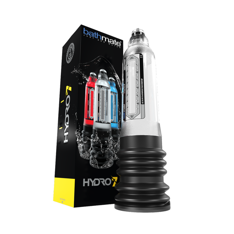Гидропомпа Bathmate HYDRO7, ABS пластик, прозрачная, 30 см (аналог Hercules)