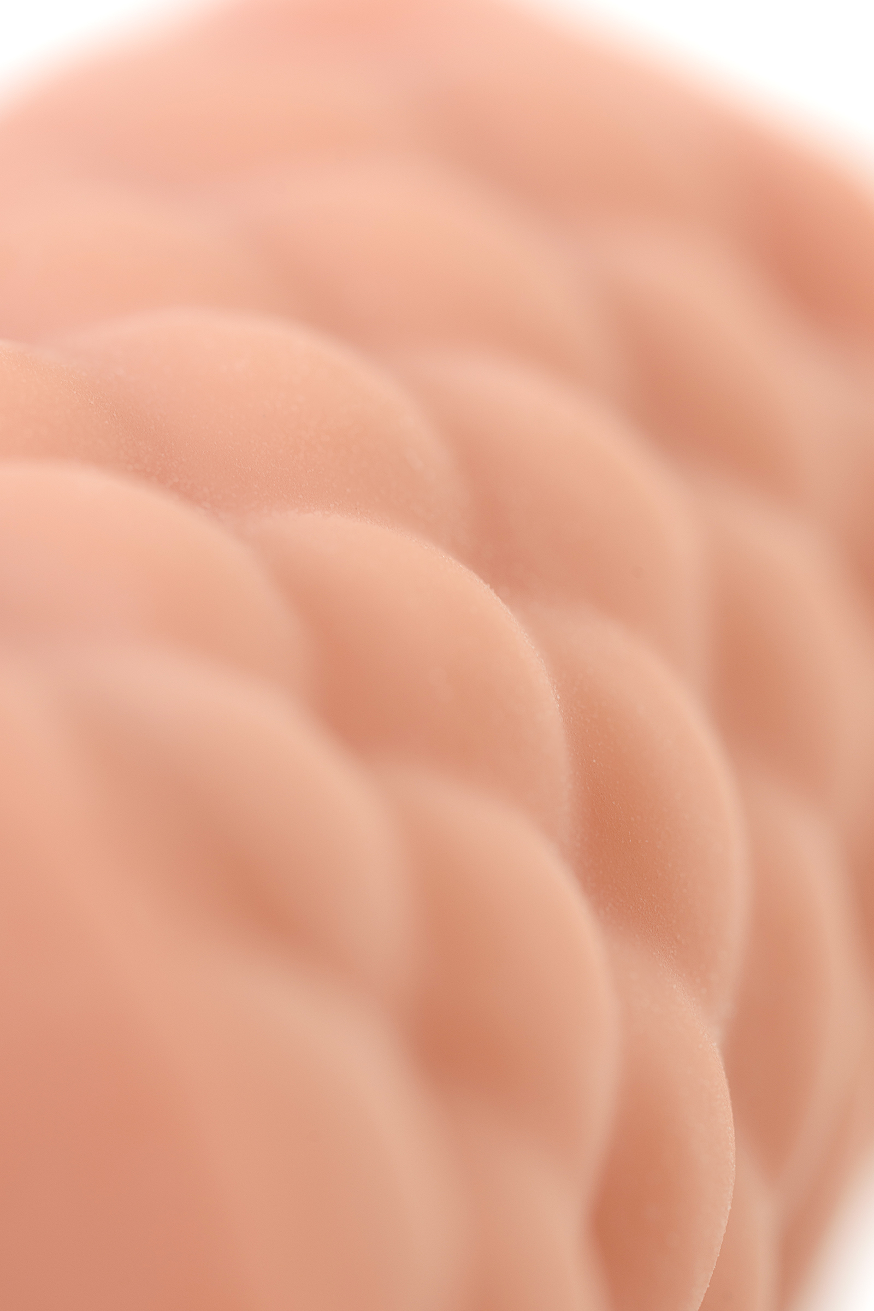 Мастурбатор реалистичный KOKOS ELEGANCE.002, TPR,Телесный, 16 см