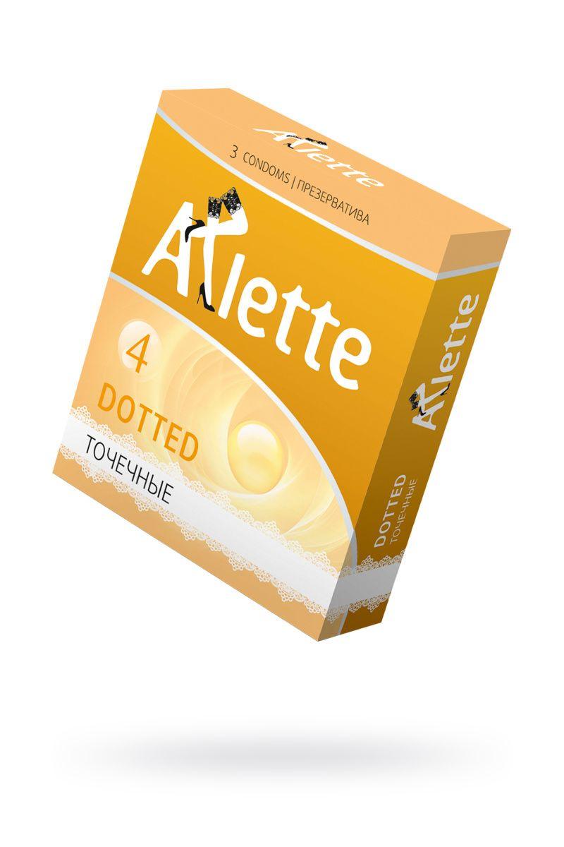 Презервативы 'Arlette' №3, Dotted Точечные 3 шт.