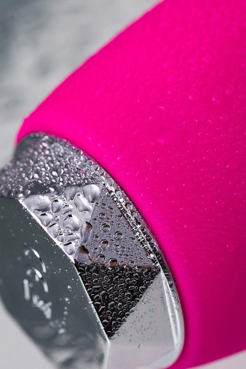 Вибратор с клиторальным стимулятором Erotist Era, силикон, розовый, 18 см
