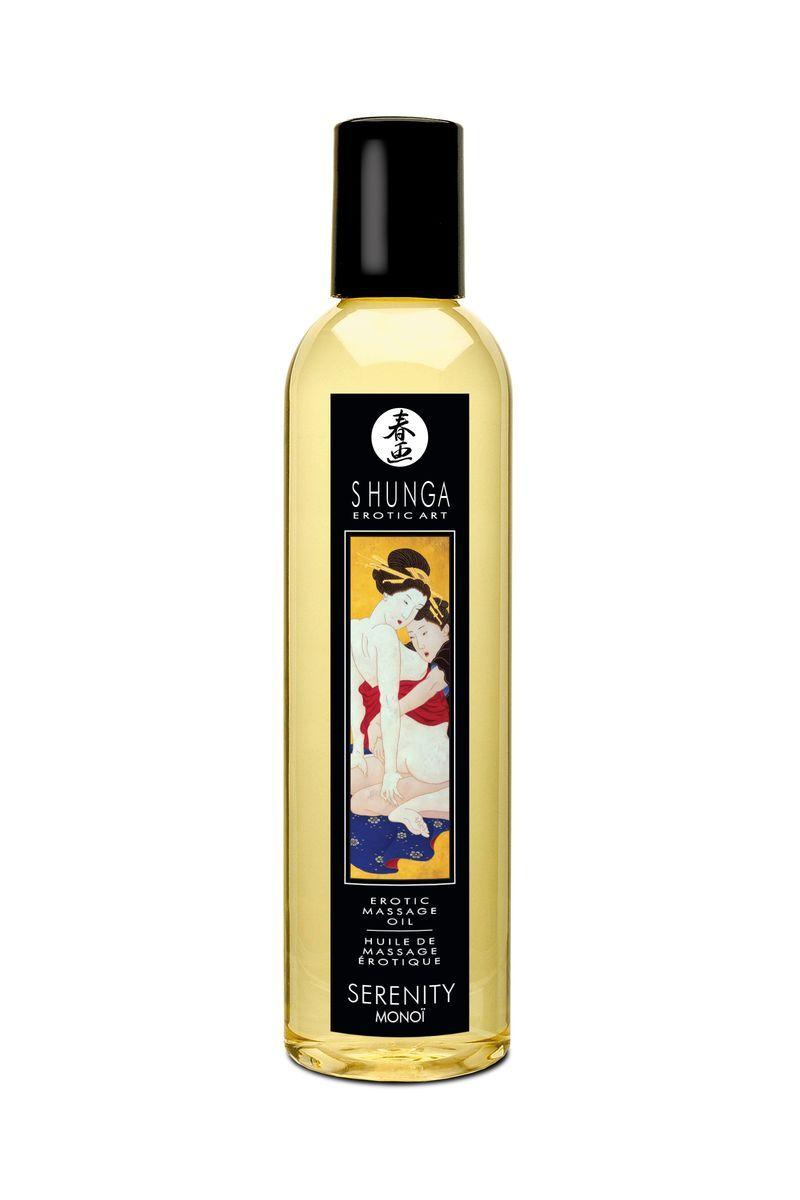 Массажное масло Shunga Organica Моной, возбуждающее, натуральное, 250 мл