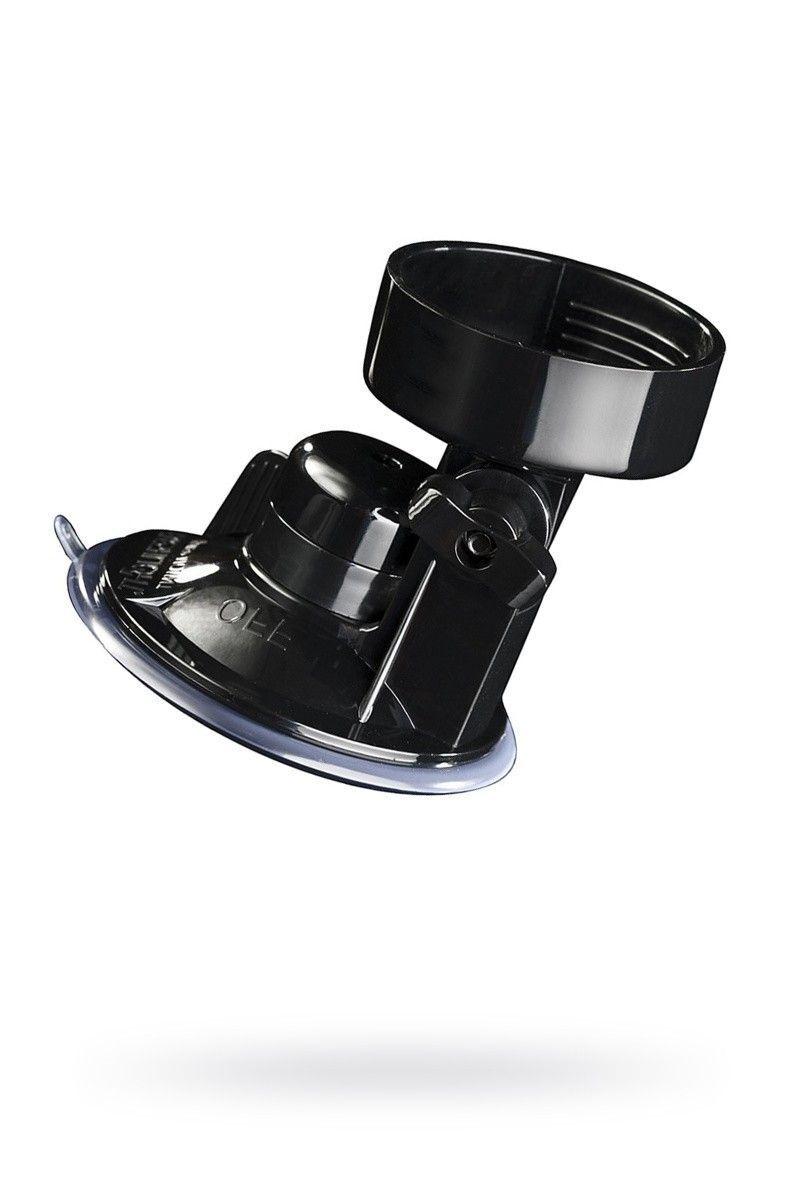 Крепление для мастурбатора Fleshlight, ABS плстик, черный,8 см