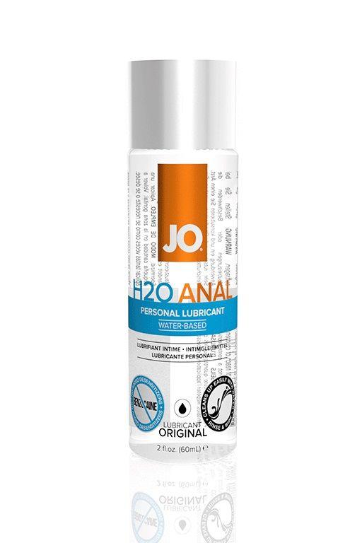 Анальный лубрикант на водной основе JO Anal H2O 60 мл