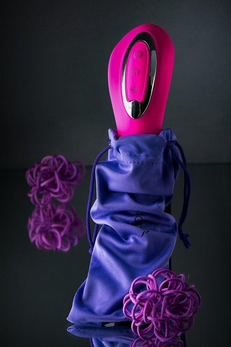 Вибратор Nalone Touch, силиконовый, розовый, 20 см