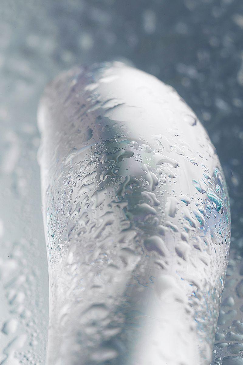 Нереалистичный фаллоимитатор Sexus Glass, Стекло, Прозрачный, 20 см