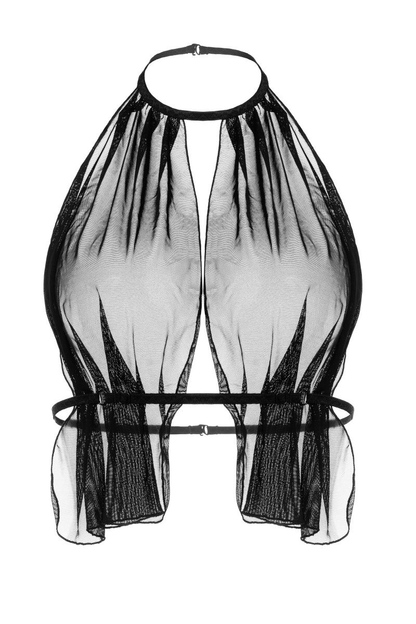 Бралетт с пояском Erolanta Clara, черный (48-52)