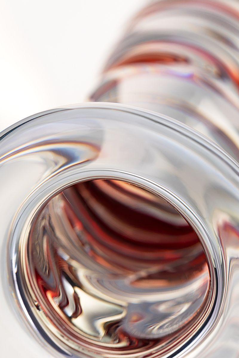Анальная втулка Sexus Glass, Стекло, Прозрачный, 14,5 см