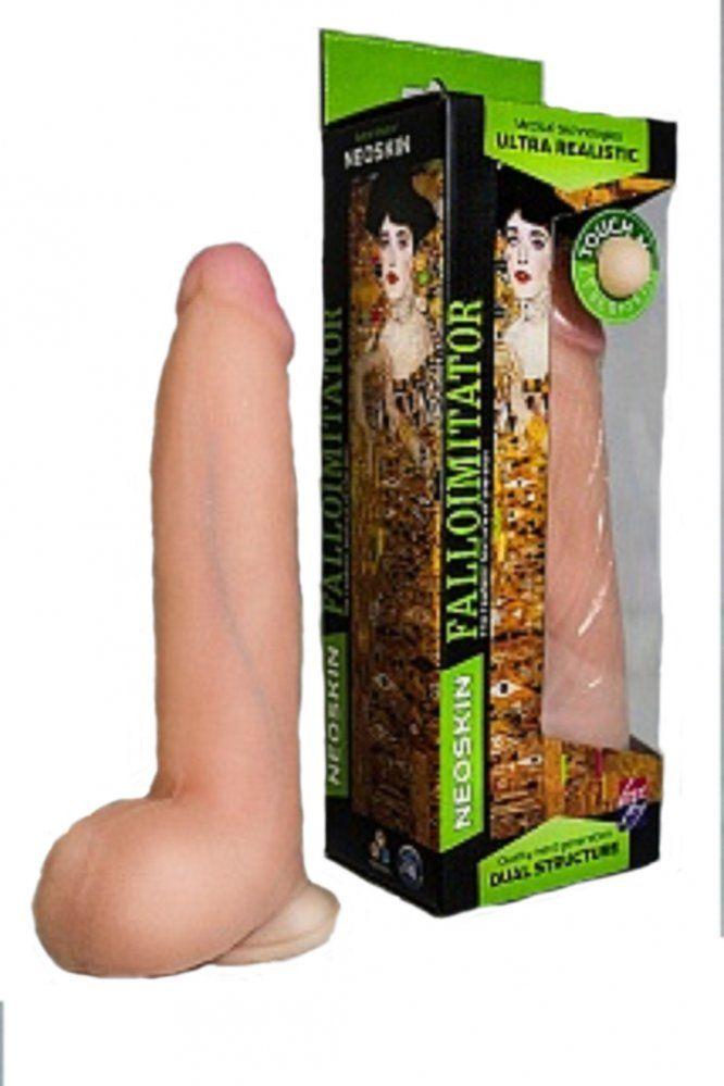 Фаллоимитатор на присоске Human Form телесный 20.5 см