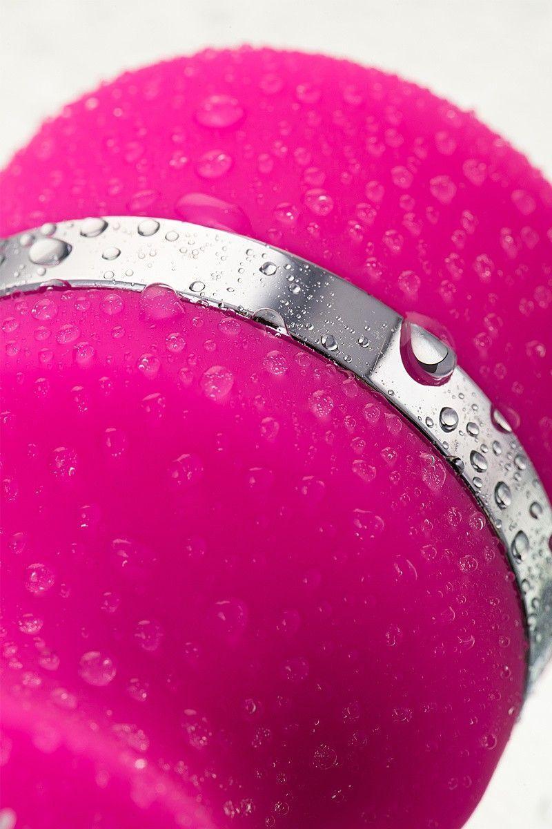 Вибромассажер Nalone Rock, Силикон, Розовый, 19,2 см