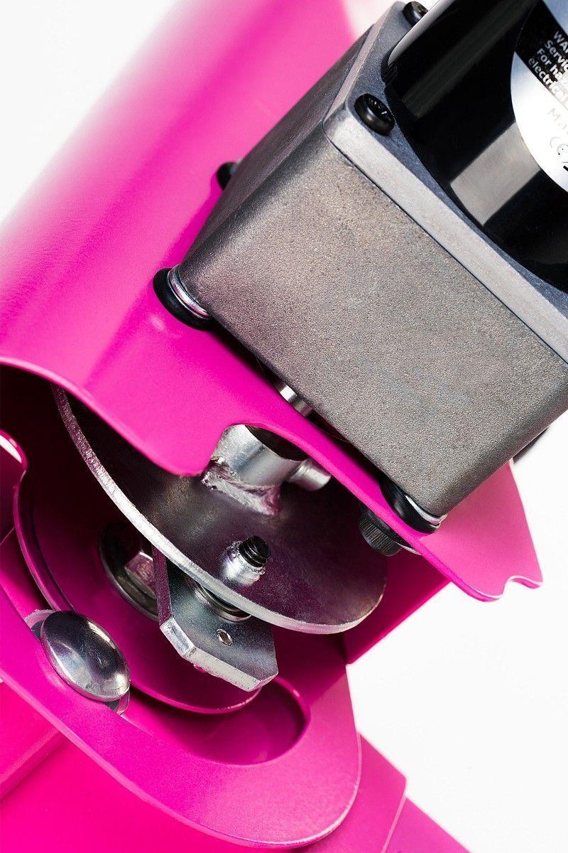Секс-машина, Diva, Цезарь 3.0 с двумя насадками, металл, розовый, 50 см