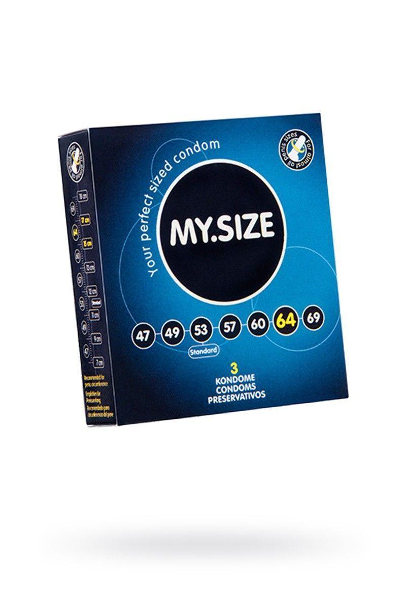 Презервативы  'MY.SIZE' №3 размер 64 (ширина 64mm)