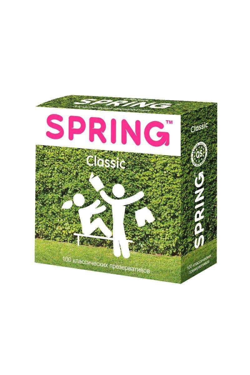 Презервативы SPRING CLASSIC - классические, 100,ШТ