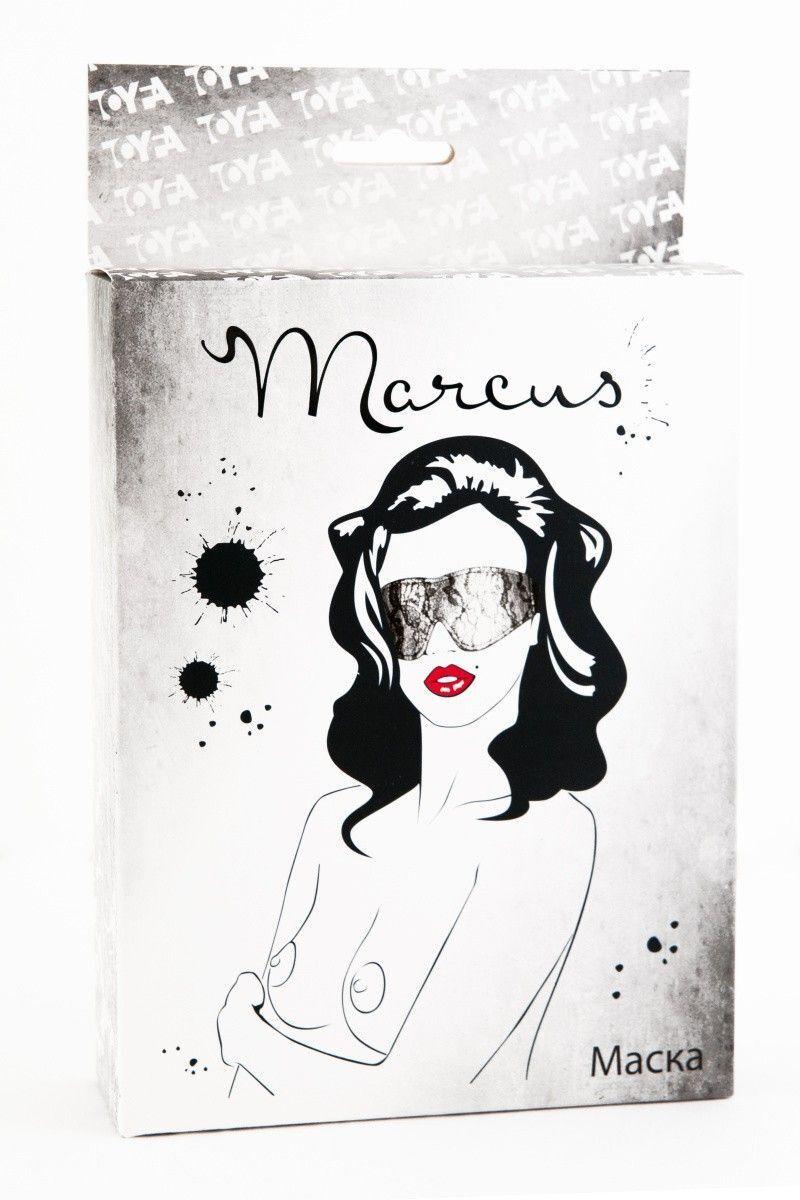 Кружевная маска TOYFA Marcus серебристая
