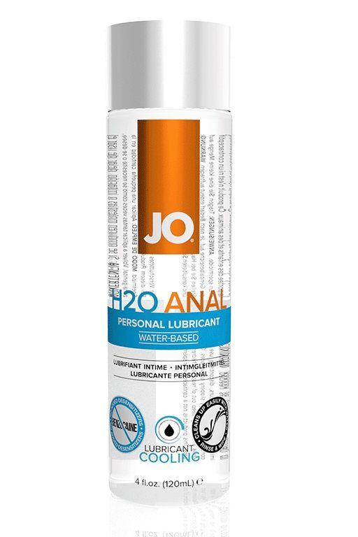 Анальный лубрикант на водной основе с охлаждающим эффектом JO Anal H2O Cooling 120 мл