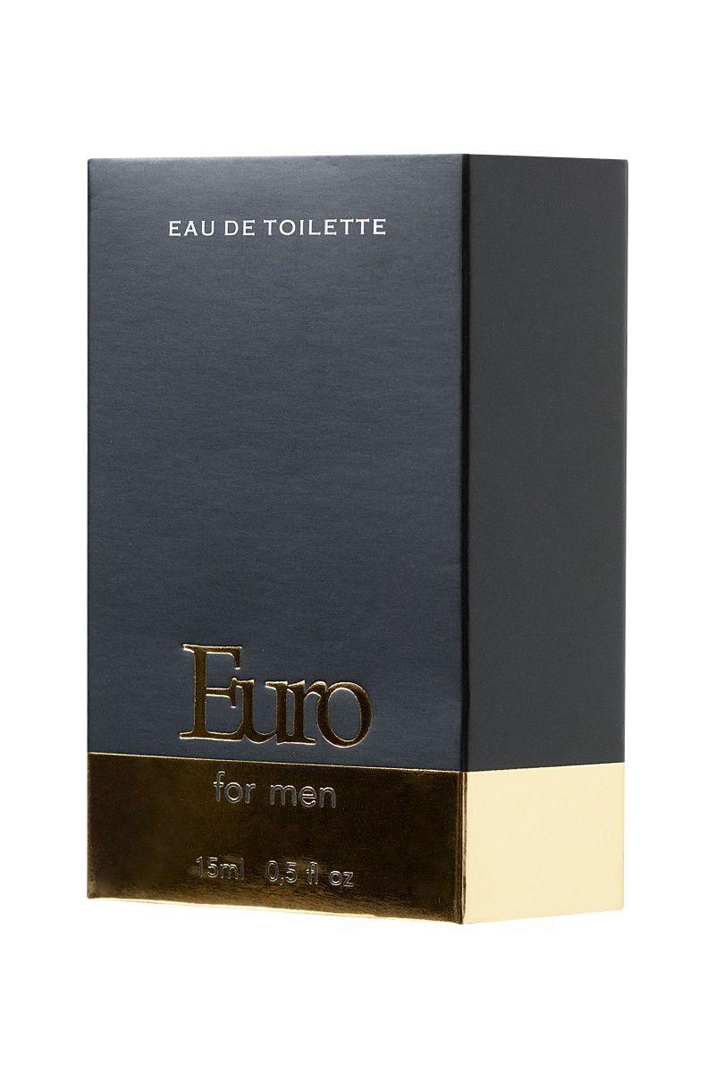 Парфюмерная вода INTT EURO с высоким содержанием афродизиаков для мужчин, 15 мл