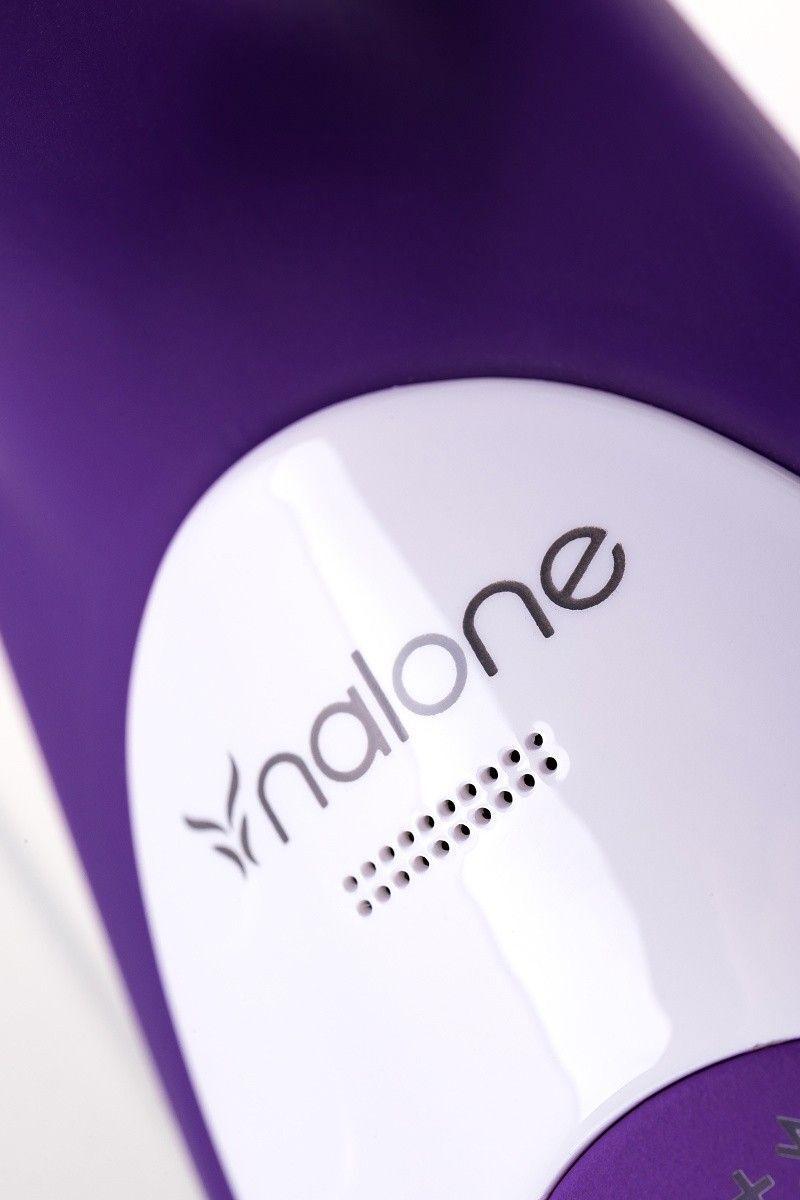 Вибратор с клиторальным стимулятором Nalone Rhythm X2 , Силикон, Фиолетовый, 21,6 см