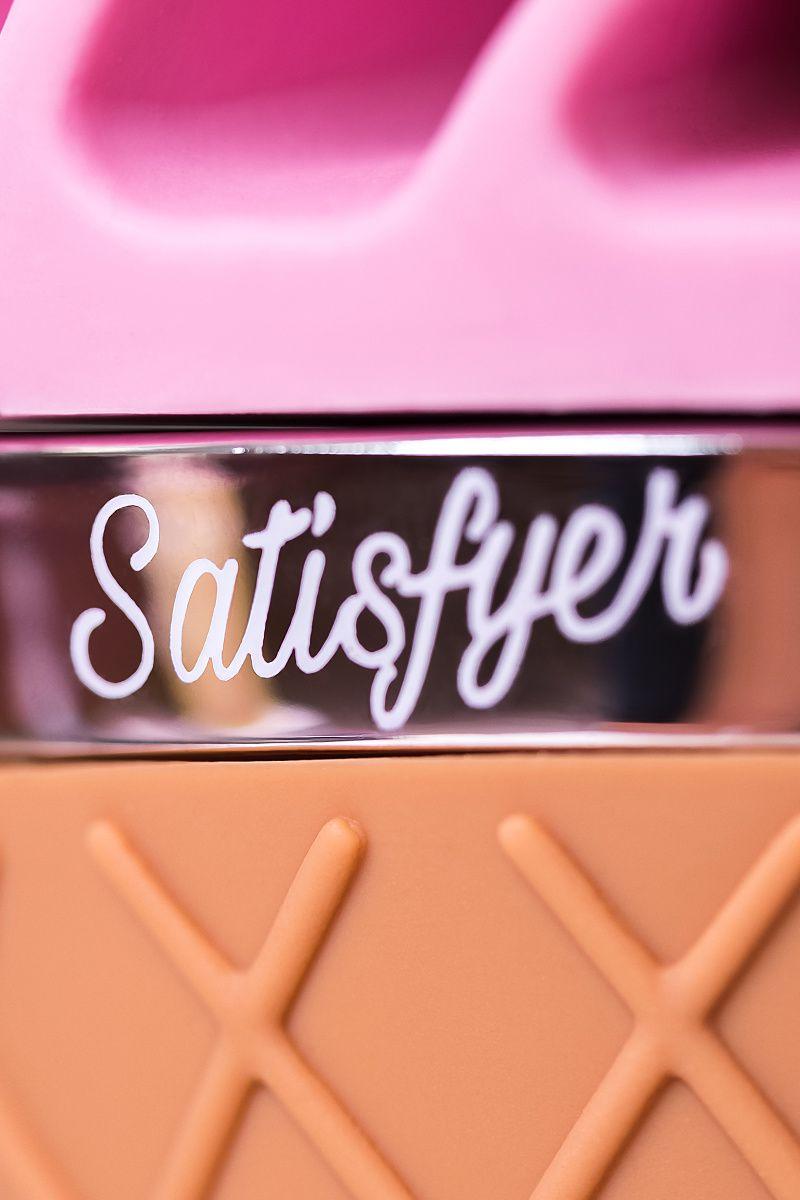 Вибромассажер Satisfyer layons Sweet Treat , Силикон, Розовый, 10,4 см