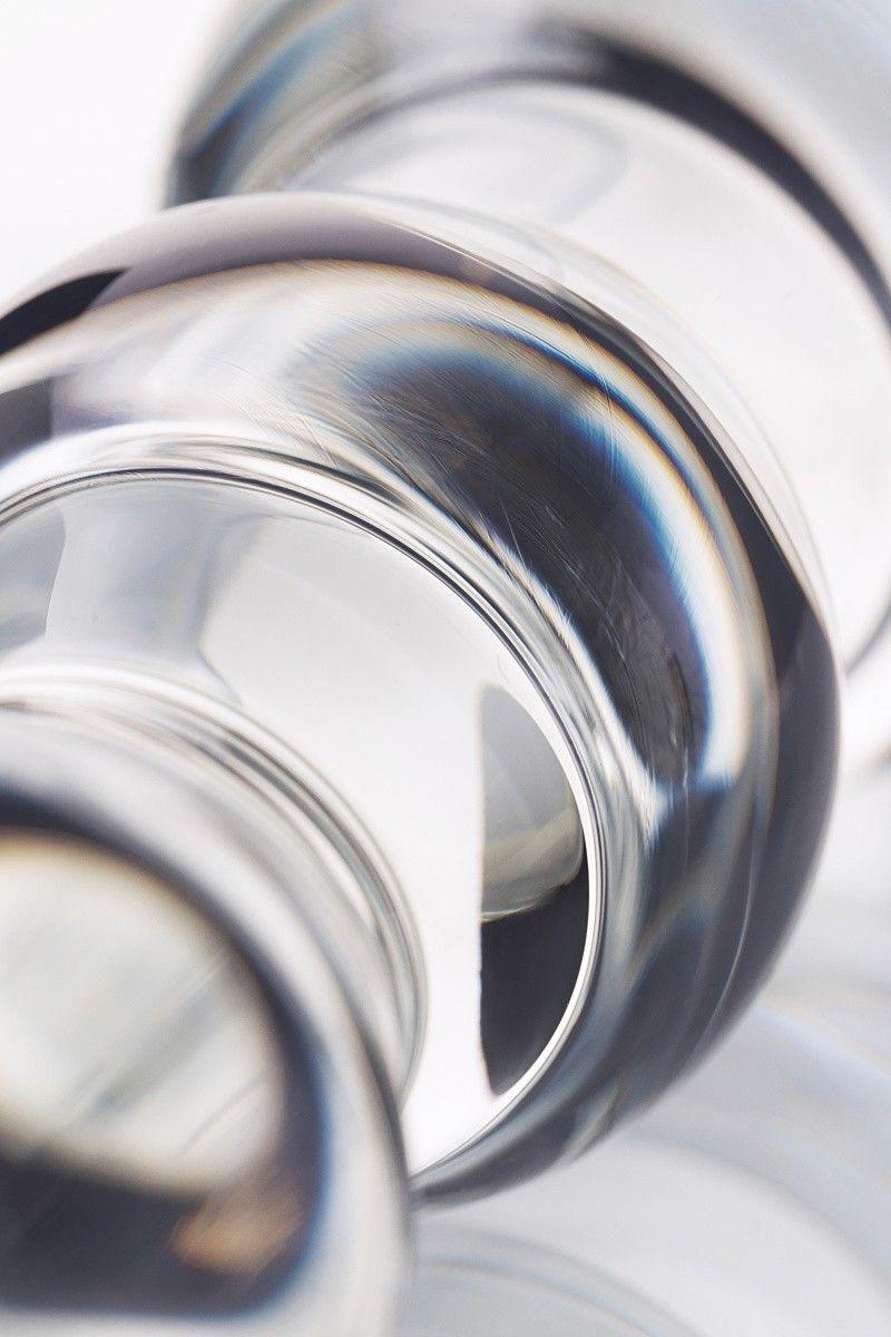 Анальная втулка Sexus Glass, Стекло, Прозрачный, 17,5 см
