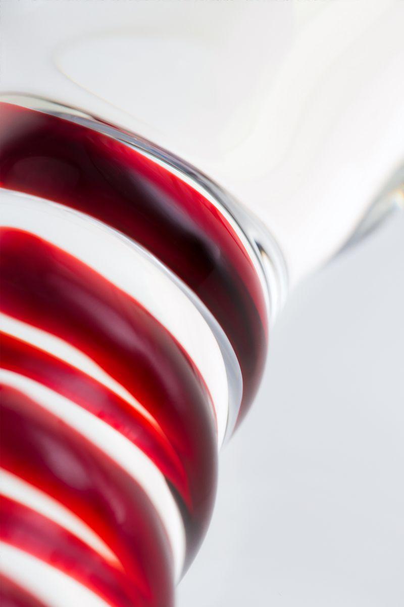 Нереалистичный фаллоимитатор Sexus Glass, Стекло, Прозрачный, 19 см