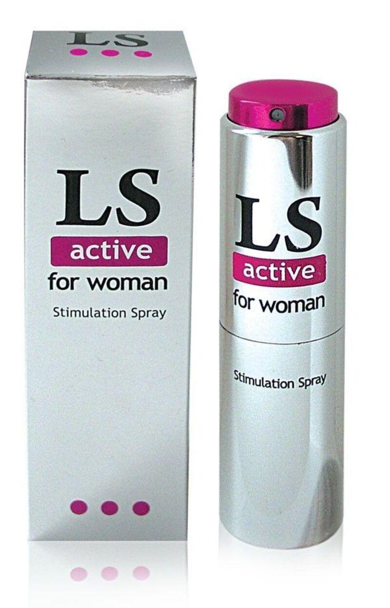 Спрей для женщин (стимулятор) LOVESPRAY ACTIVE' 18гр