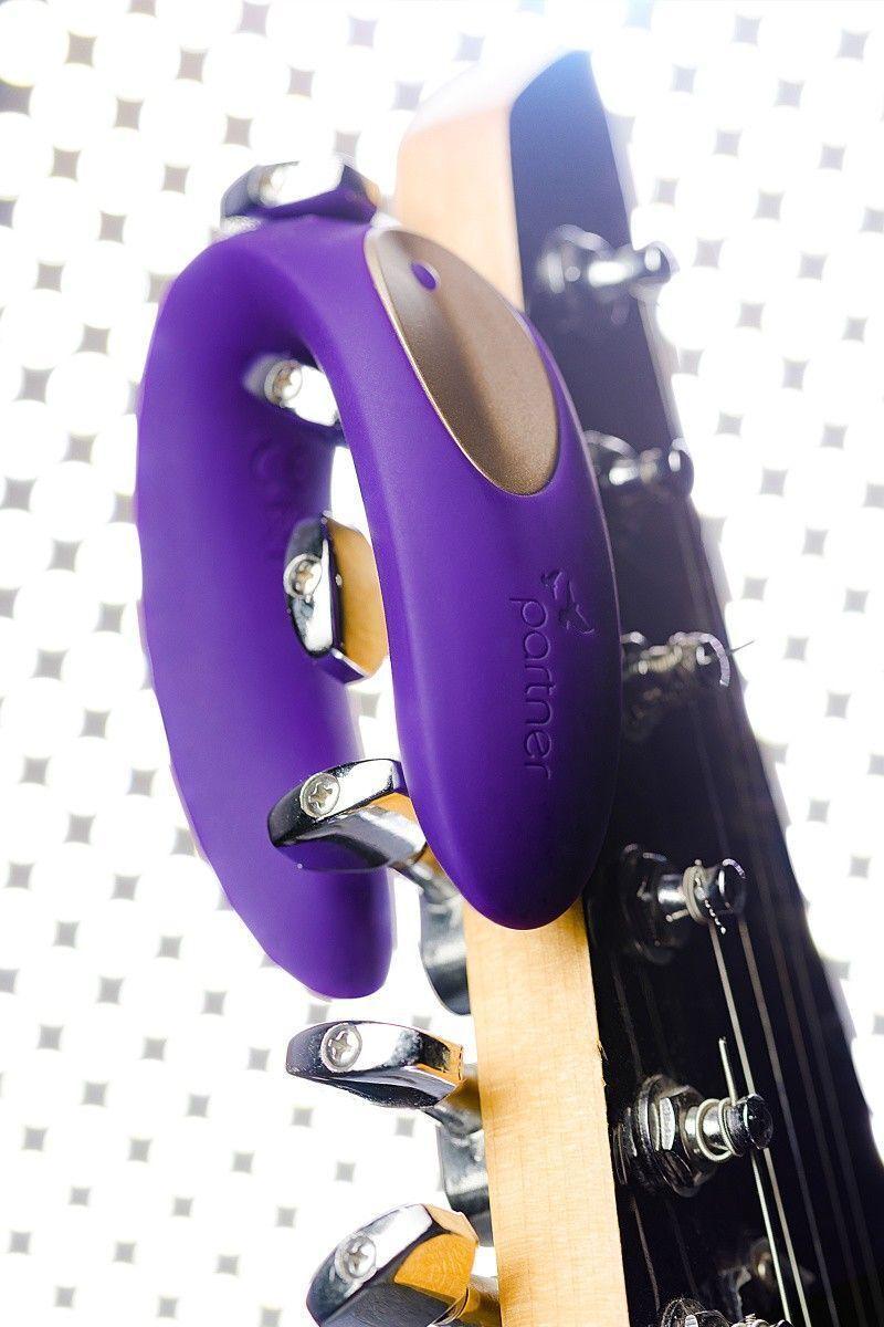 Многофункциональный стимулятор для пар Satisfyer Partner Toy Plus, силикон, фиолетовый, 18см
