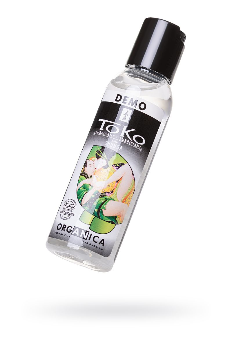 ТЕСТЕР Лубрикант Shunga Toko Organica из 100% органических компонентов,60 мл