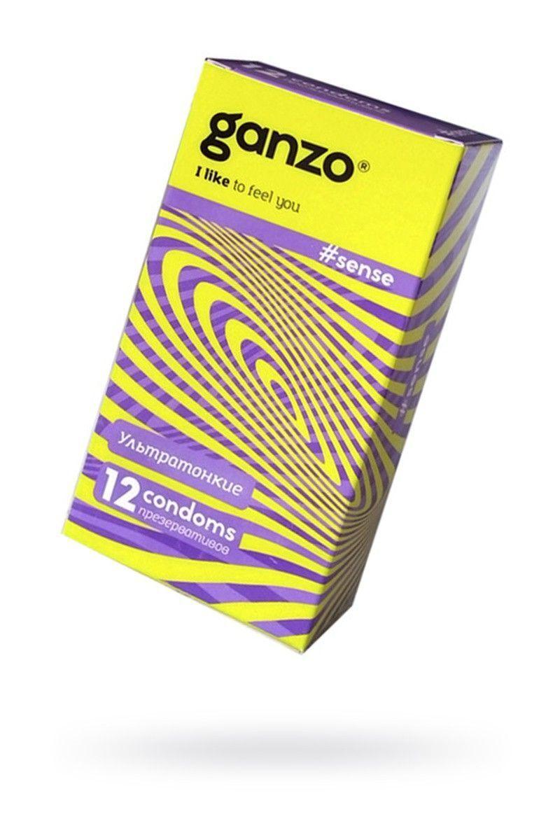 Презервативы Ganzo Sense № 12Ультратонкие ШТ