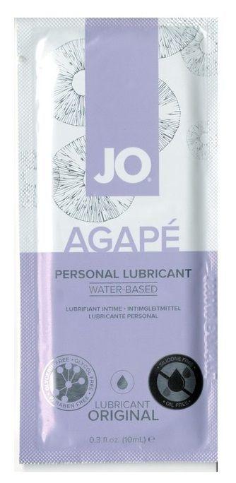 Персональный лубрикант на водной основе для женщин JO Agape 10 мл