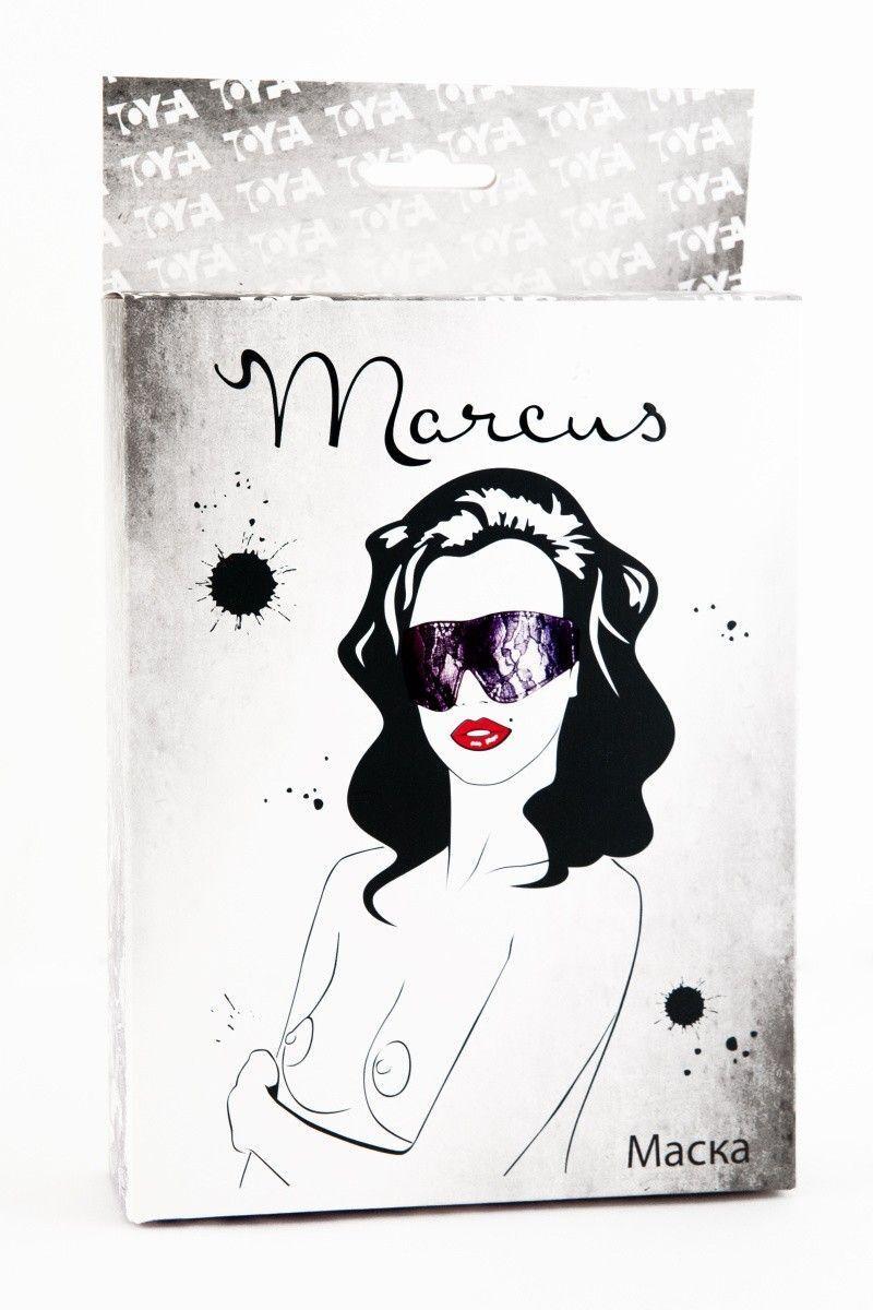 Кружевная маска TOYFA Marcus пурпурная