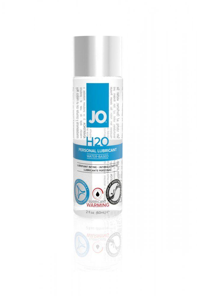 Лубрикант на водной основе с разогревающим эффектом JO H2O Warming 60 мл