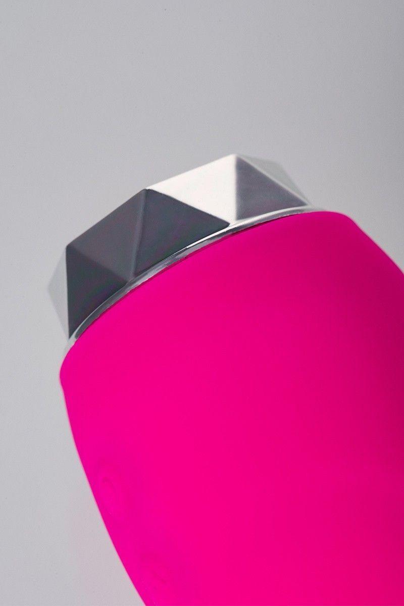 Вибратор Erotist Dana, силикон, розовый, 14,5 см