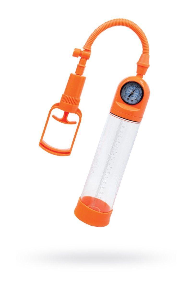 Помпа для пениса TOYFA A-Toys, Силикон, Прозрачный, 20 см