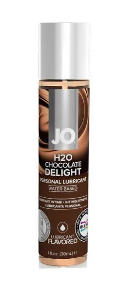 Съедобный лубрикант Шоколадный восторг JO H2O Lubricant 30 мл