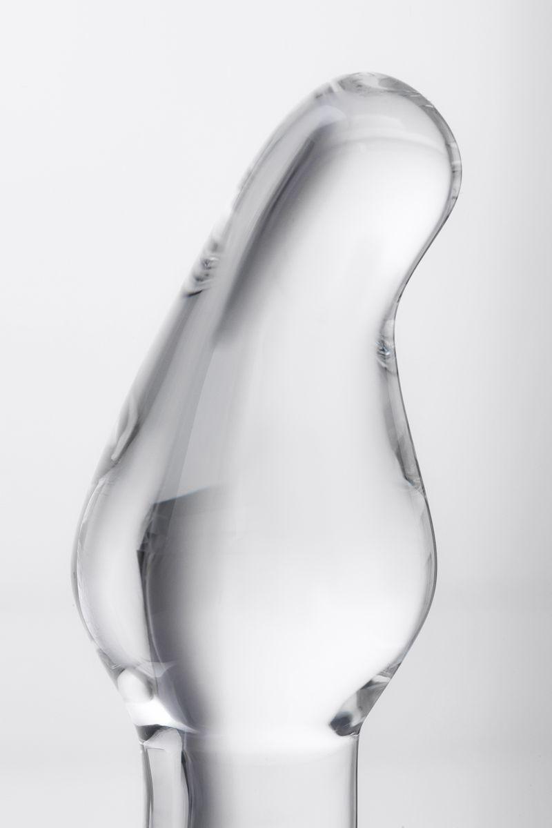 Анальная втулка Sexus Glass, Стекло, Прозрачный, 12 см