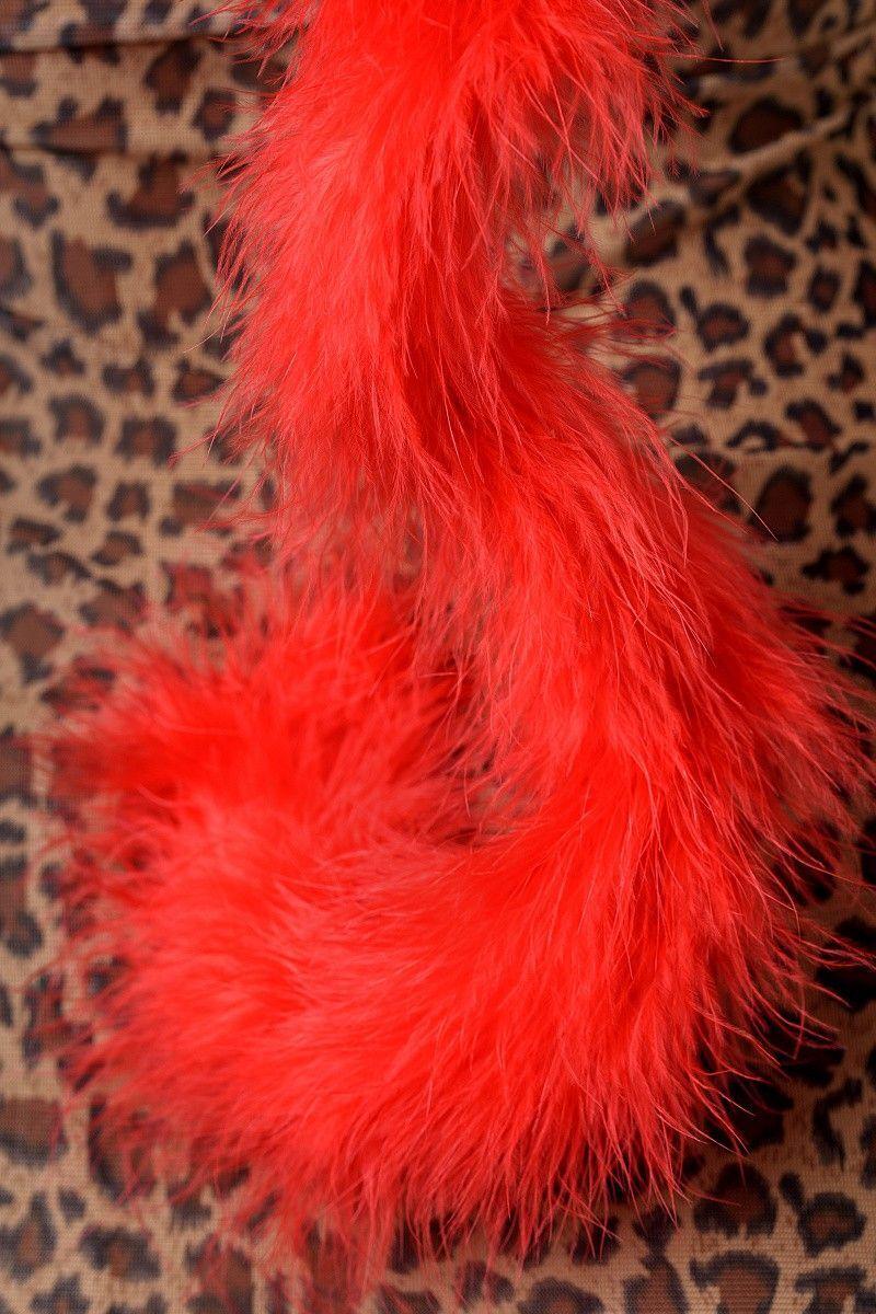 Костюм кошки Candy Girl (комбинация, стринги, митенки, ушки), леопардовый, OS