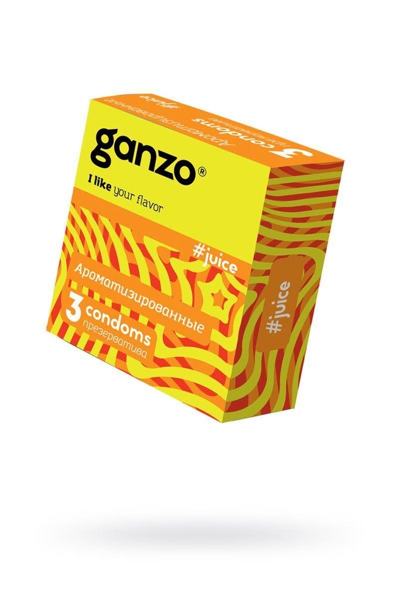 Презервативы Ganzo Juice №3 Ароматизированные ШТ
