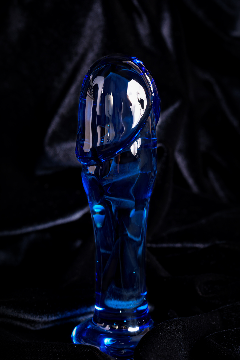 Анальный фаллоимитатор Sexus Glass, Стекло, 12,5 см