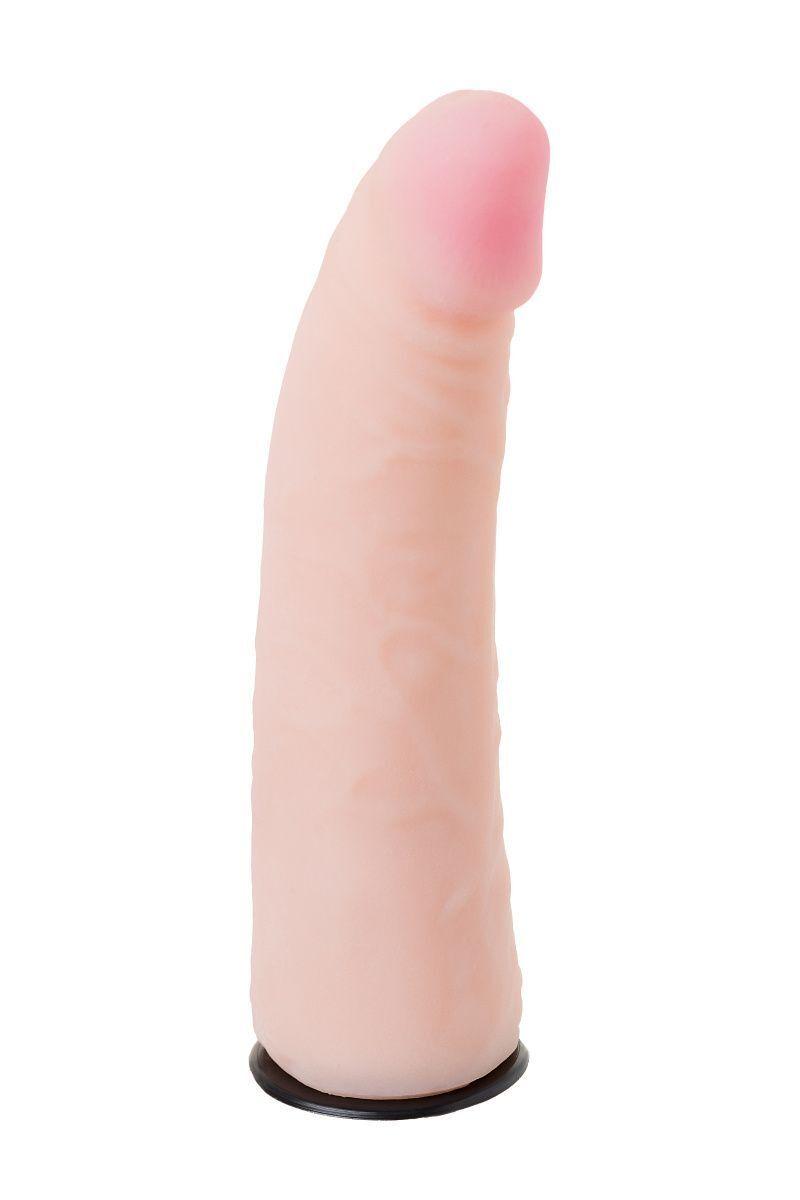 Страпон на креплении LoveToy с поясом Harness, реалистичный, neoskin, 17,5 см