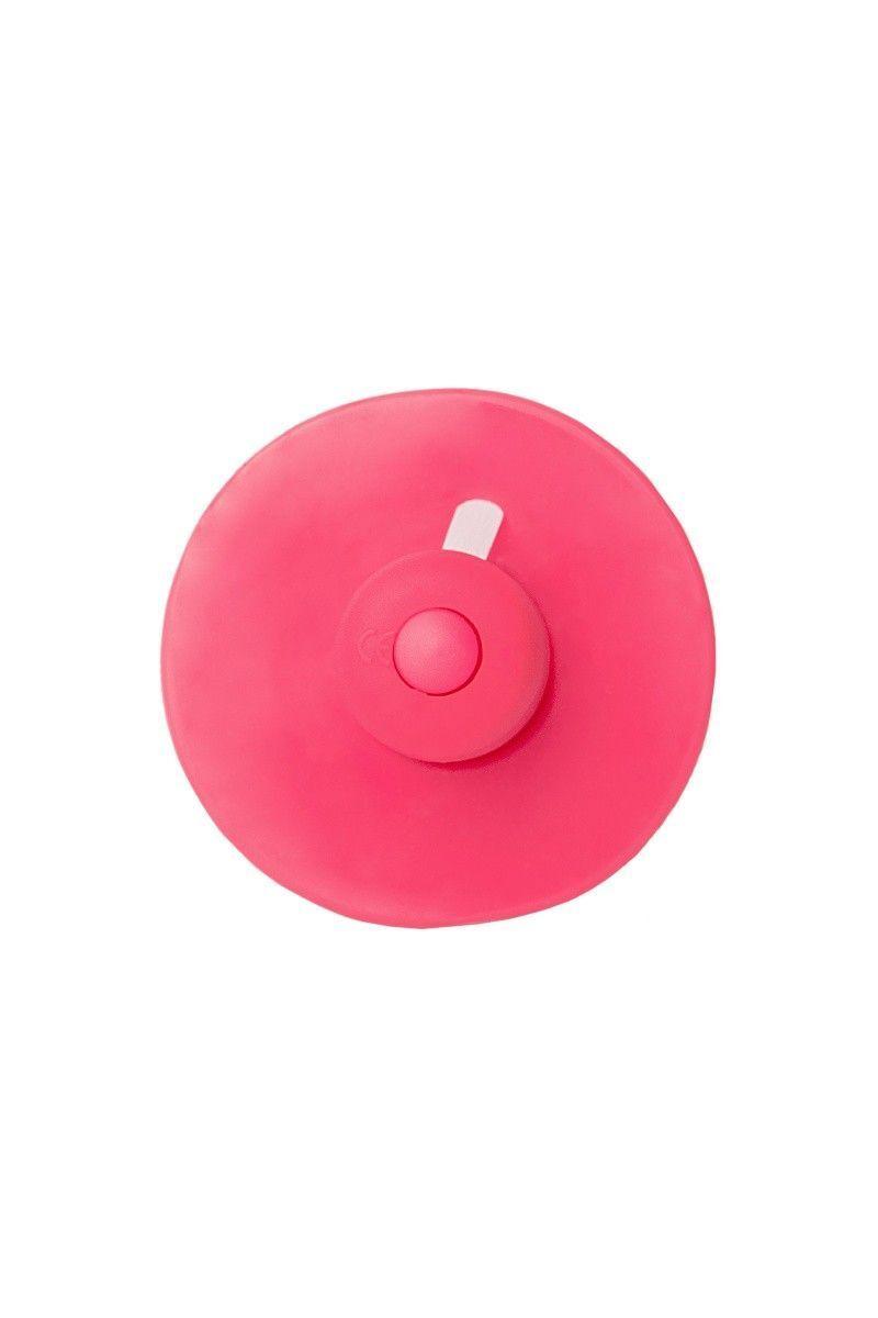 Анальная втулка TOYFA POPO Pleasure с вибрацией, розовая, 12,4 см