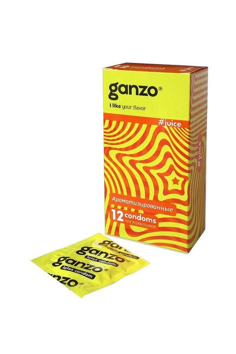 Презервативы Ganzo Juice №12 Ароматизированные ШТ