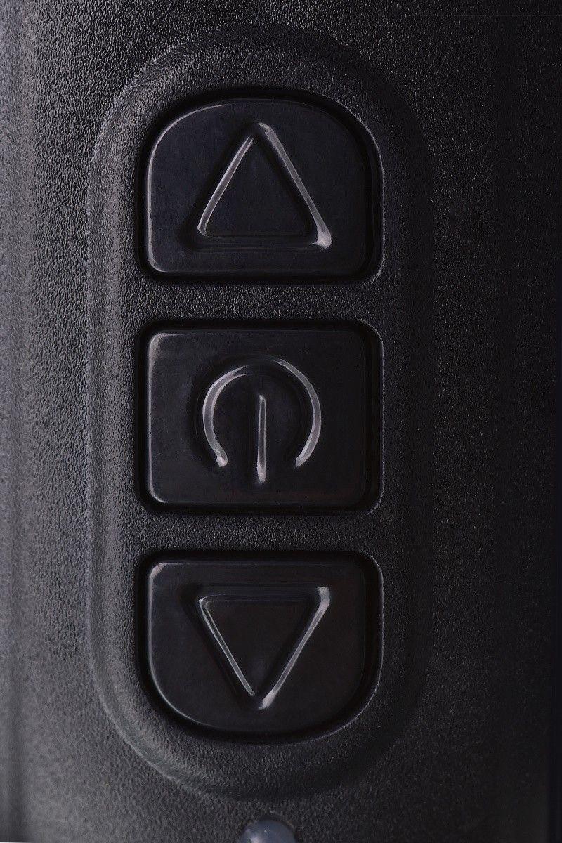 Стимулятор простаты Erotist Third, силикон, чёрный, 15,7 см
