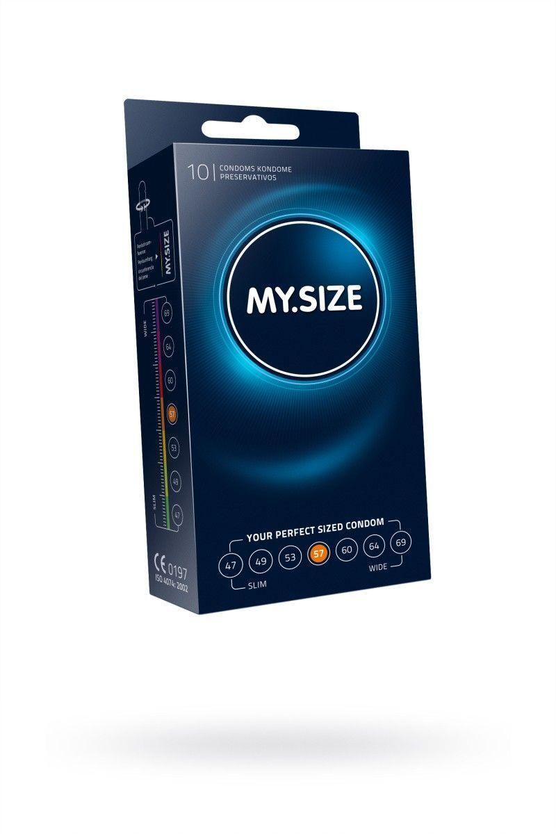 Презервативы  'MY.SIZE' №10 размер 57 (ширина 57mm)