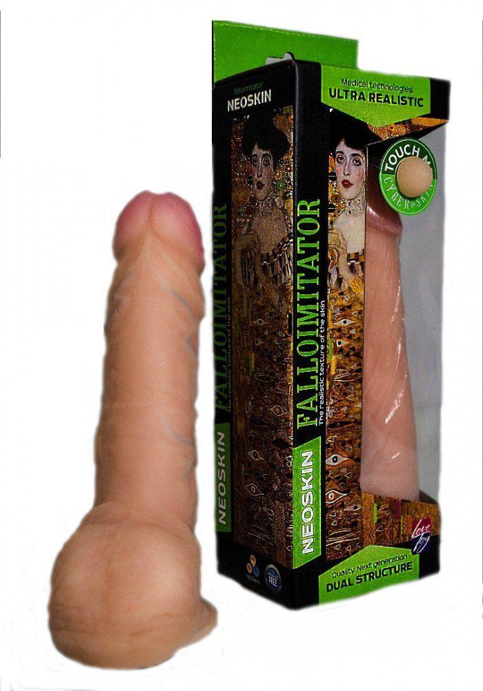 Фаллоимитатор на присоске Human Form телесный 19 см