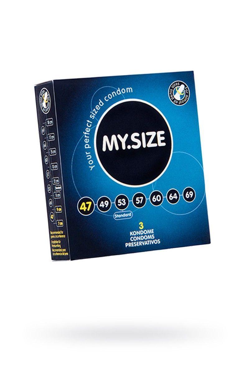 Презервативы  'MY.SIZE' №3 размер 47 (ширина 47mm)