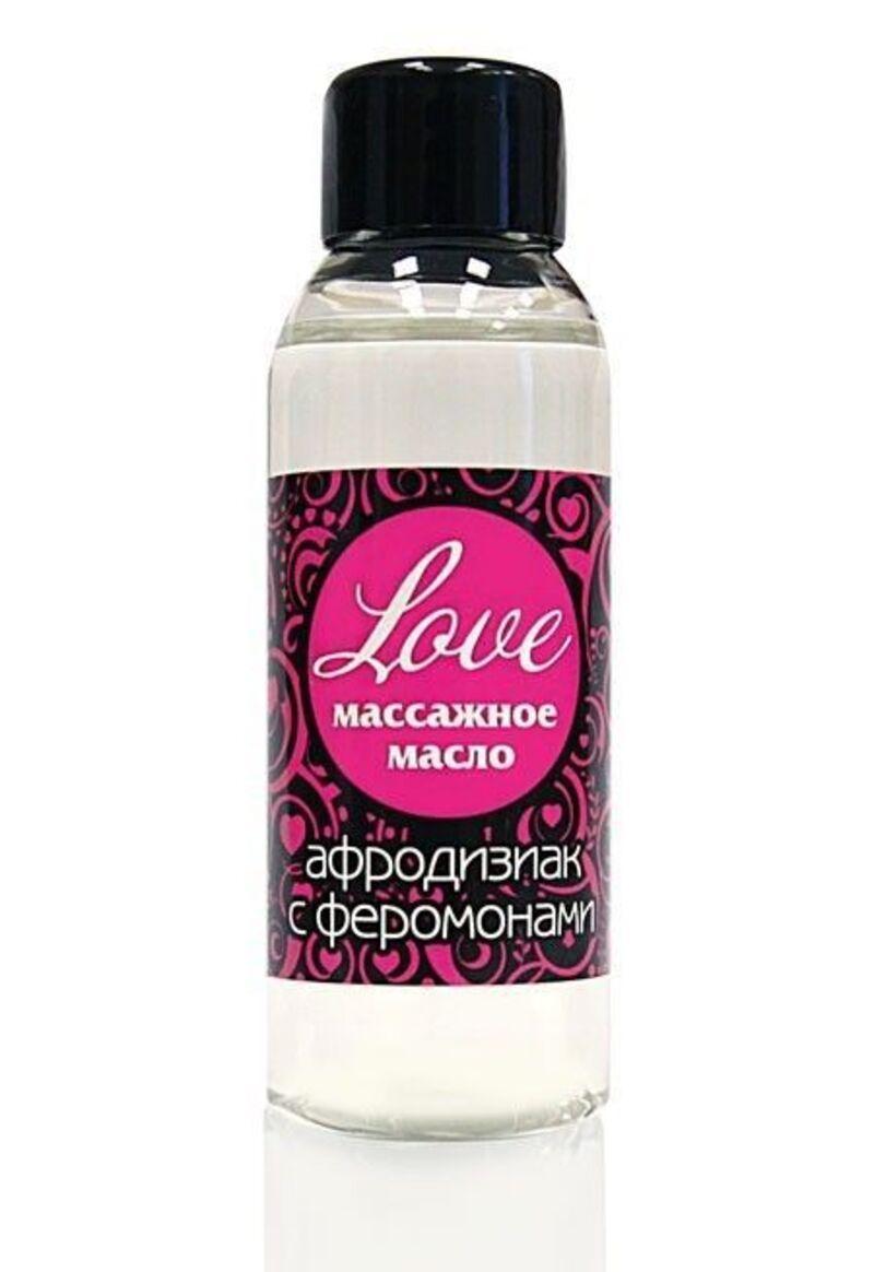 Масло массажное Love с феромонами, 50 мл
