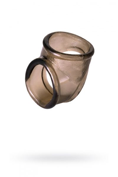 Эрекционное кольцо на пенис TOYFA XLover  , Термопластичный эластомер (TPE), чёрный, 3,5 см